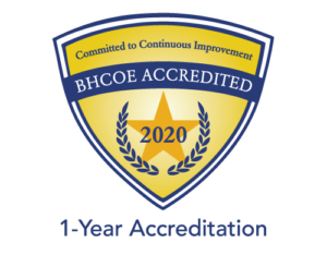 BHCOE 2020 Accreditation 1 Year Hero